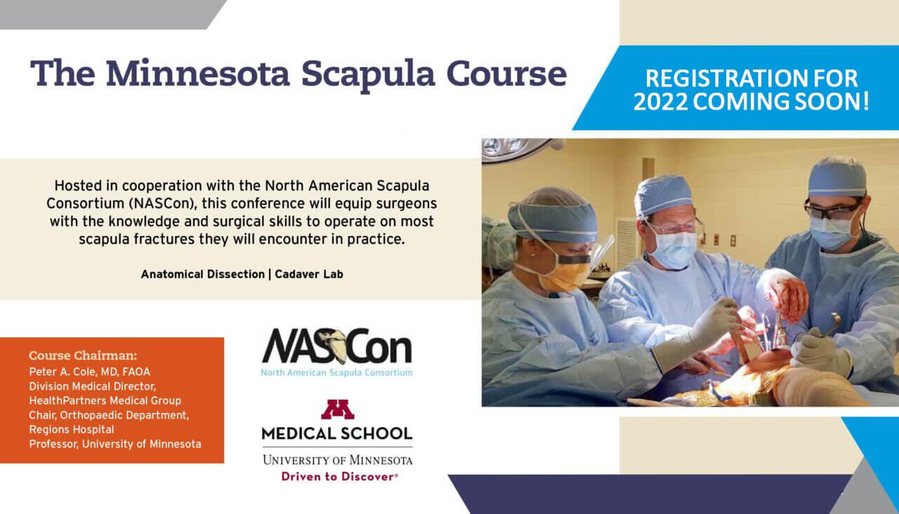 2021 Minnesota Scapula Course