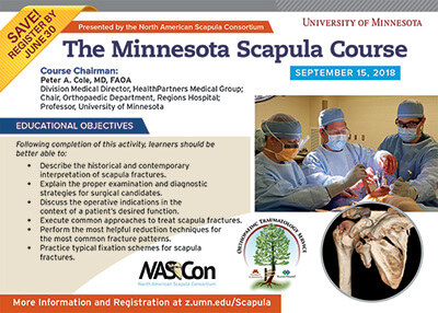 The Minnesota Scapula Course 2019